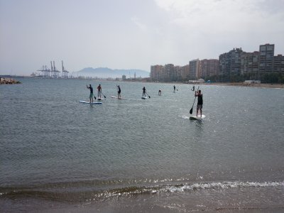 Paddle Surf Course马拉加,1小时45分钟,1级