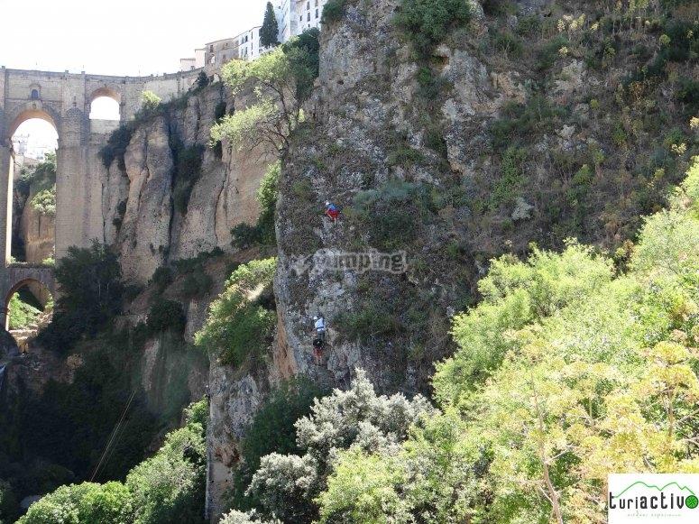 Vía ferrata en Málaga