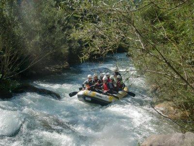 White water rafting, Montanejos, free photos