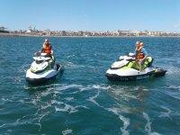 Excursión guiada en moto de agua en Valencia 1hora