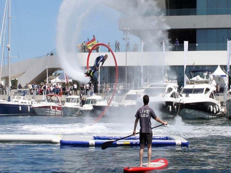 Flyboard nella Royal Navy