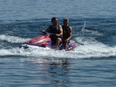 20 min jet ski rental in Barcelona