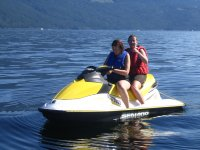Jet ski for two seaters