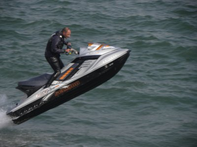 1h jet ski rental in Barcelona + towel