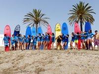 Campamento de verano surf y paddle surf Marbella