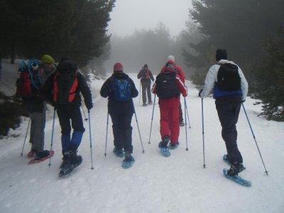 La Tormenta Raquetas de Nieve