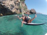 穿越Paddlesurf组马老塞罗戈悬崖。