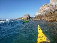 Vistas desde el kayak
