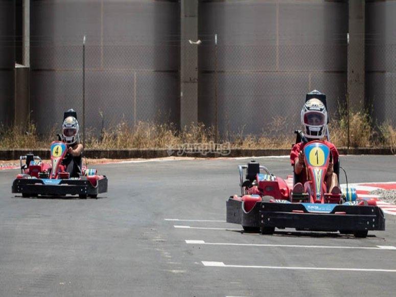 Karting en familia