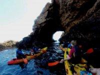 Spettacolare percorso in kayak