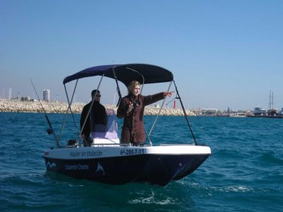 Hire a boat without license, Cambrils
