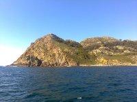 Stunning views of the waters of Vigo