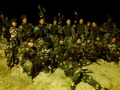 Night paintball in Barcelona & 50 free paintballs