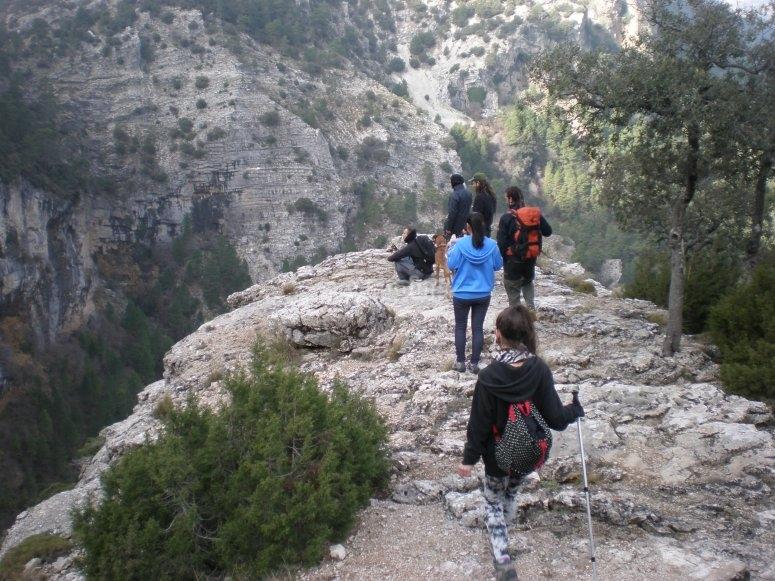 Los Chorros cave