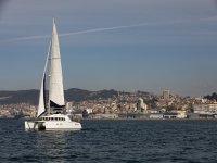 Meet Vigo traveling by catamaran