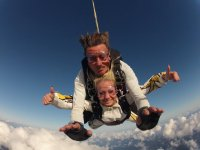 Tandem skydiving Gran Canaria with video or photos