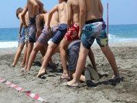 Actividades niños en playa granada