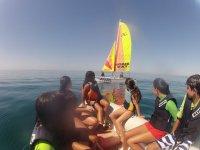Actividades nauticas para colegios