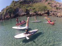 excursion de kayak y sup