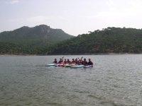 Canoe trip through Madrid