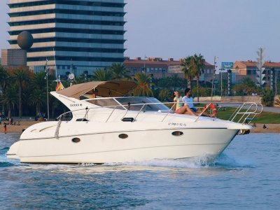 Gobbi yacht ride in the Barcelona coast 2 hours