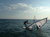 特拉韦西亚Paddlesurf马罗冲浪课程在格拉纳达海滩