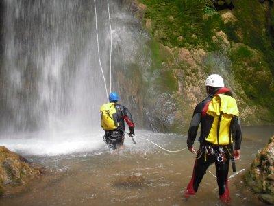 Barranco Nivel Iniciación en la Serranía de Cuenca