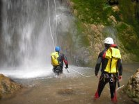 Canyoning for beginners in the mountains of Cuenca