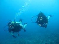 Clase de buceo en aguas abiertas Gibraltar