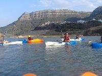 Paseo en kayak, pantano en Montanejos + fotos