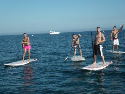 Motril 4h的Paddle-Surf启动课程