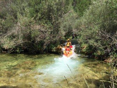 Kayak y barranquismo con alojamiento en Alto Tajo