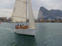 Vistas del Estrecho de Gibraltar desde la vela