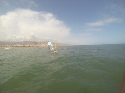 10h Windsurfing basic course in Motril