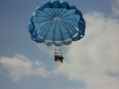 Parasailing flight for 2 in Denia