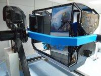 Espacio del simulador aéreo