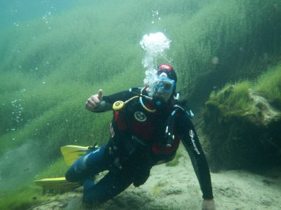 在瓜达拉哈拉的Alto Tajo潜水洗礼