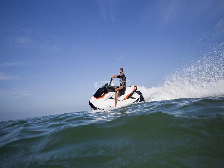 Alquiler de moto acuatica