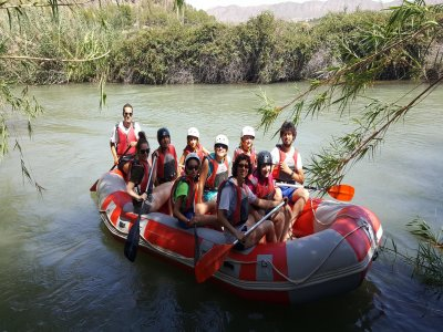 Rafting vicino alle risaie di Calasparra 2 h 30 min