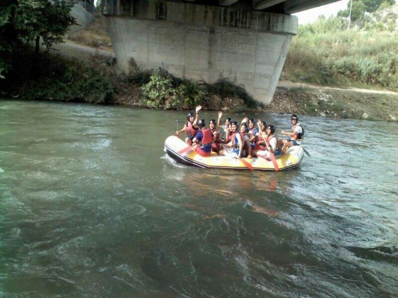 """Descenso Raft Semi-Integral Nivel 2, 4h Calasparra"""