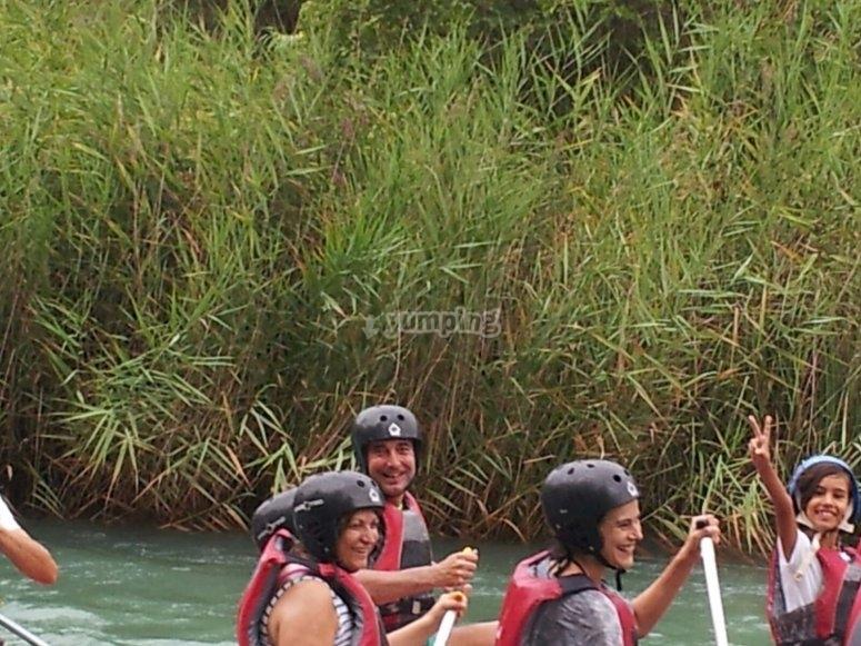 Rafting a Cenajo