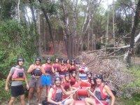 Preparato per il rafting