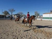 Entrenamiento a caballo