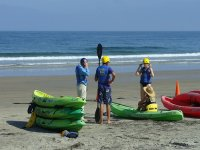 Prepared for the kayak in Pineda de Mar