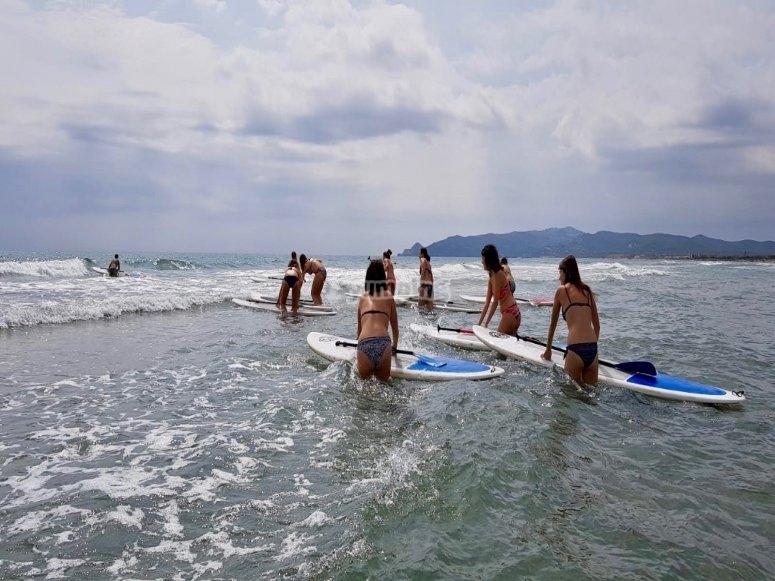 团体冲浪板租赁