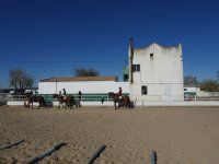 Alumnos de equitacion