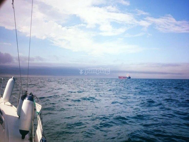En mar abierto