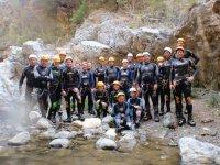 gruppi canyoning