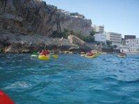 Kayaks en Mallorca
