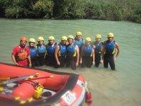 equipos rafting